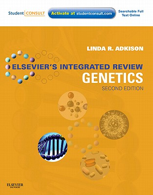 Elsevier's Integrated Review Genetics By Adkison, Linda